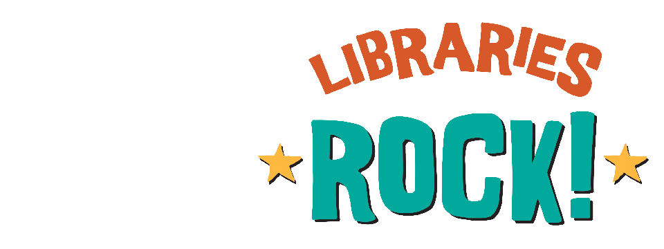 text: Libraries Rock