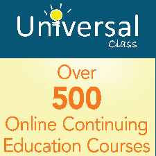 universal class, over 500 continuing education courses